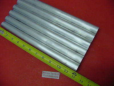 """6 Pieces 1-1/16"""" ALUMINUM 6061 ROUND ROD 12"""" LONG Solid T6511 Lathe Bar Stock"""