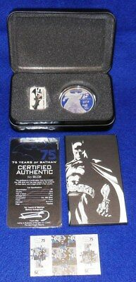 2014 Niue 75 Years Of Batman Proof Coin...$5...2 Oz. .999 Silver...ogp