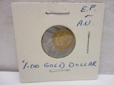 1852 U.S. Liberty Head $1.00 Gold Coin Extremely Fine