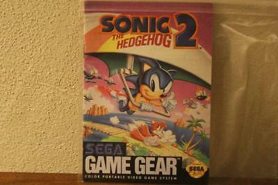 Sonic The Hedgehog 2 Sega Game Gear Instruction Manual