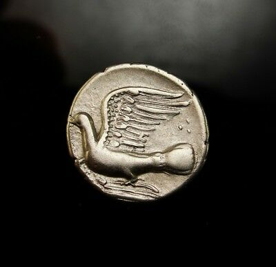 CHIMERA Dove Sicyon. Very Sharp Exceptional. RARE Ancient Greek Silver Coin.