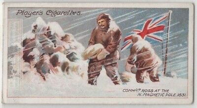 Commander James Ross At The Magnetic North Pole 1831 c100 Y/O Trade Card
