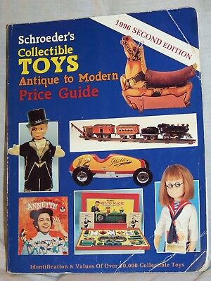 Schroeder's Collectible TOYS - Antique to Modern - Price Guide (1996)