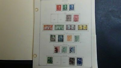 Lithuania stamp collection on Scott Int'l pages '34 - 2009 w/ 200 stamps