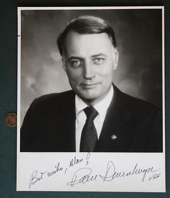 1978-1995 Minnesota GOP Senator Dave Durenberger signed/autographed B&W photo!