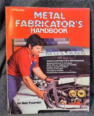 1982 HP Books Metal Fabricator's Handbook Ron Fournier Softcover