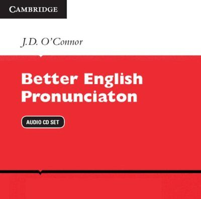 Better English Pronunciation Audio CDs (2), O'Connor, J. D., Very Good condition