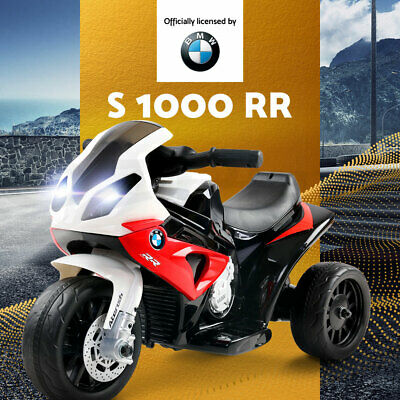 Kids Ride-On Motorcycle Motorbike BMW Licensed Car Electric Toys Battery Police