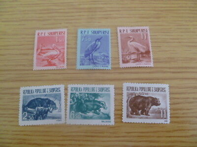 Albania - 1961 SG 673-8 - mounted and mnh catalogue £50+  Ref HR4