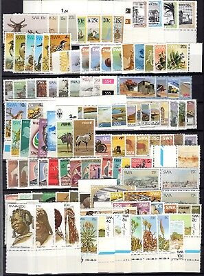 A73450 / South West Africa / Lot 1963 - 1985 Neuf ** / Mnh 104 €