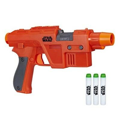 Star Wars Nerf Poe Dameron Blaster Pistol Toy Gun New