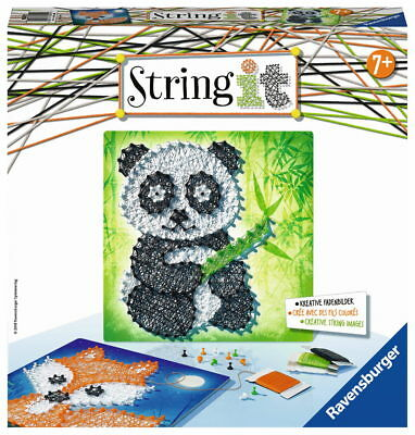 Ravensburger Creation String it Midi Panda & Fox 18029