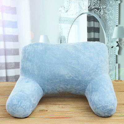 Plush Cushion Bed Rest Lounger Neck Car Back Support Arm Backrest Relax Pillow