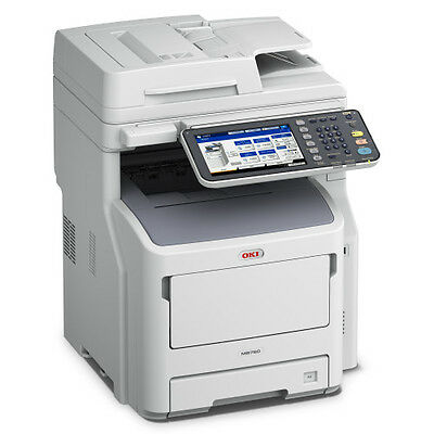 NEW OKI Data MPS3537mc 35ppm Color Multifunction LED Copier/Printer/Fax/Scan