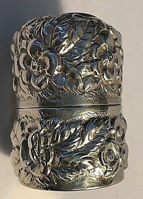 Antique Bailey, Banks & Biddle Sterling Silver Thread Holder Sewing #259