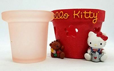 Hello Kitty Sanrio Candle Holder Voltive 2 pieces Retired 1997