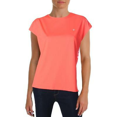 Yas Sport Womens Orange Fitness Yoga Pullover Top Athletic M BHFO 5064