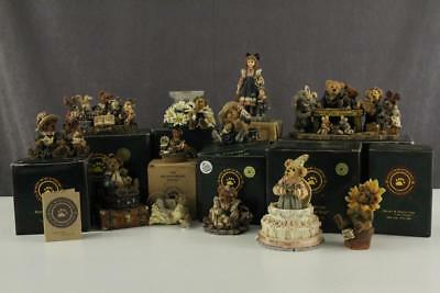 Estate Clean Out DEALER LOT Boyds Bears Yesterdays Child Resin Animal Figurines