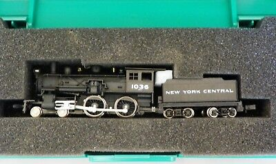 Model Power N New York Central #1036 Nyc 4-6-0 Steam Locomotive & Tender Nib