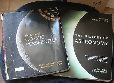 Astronomy 2 Book SET Homeschool Cosmic Perspective History Of