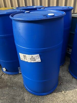 44 Gal 210 Litre Plastic Drum, Suit Water Or Liquid Storage