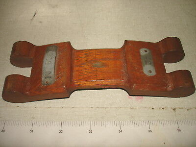Old S.F. Ca Shipbuilding Foundry Labeled Wooden Mold – SKYLIGHT HINGE NR