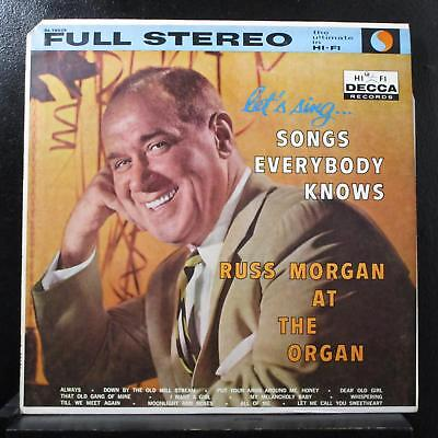 Russ Morgan - Songs Everybody Knows LP Mint- DL 78828 Decca 1959 Stereo Record