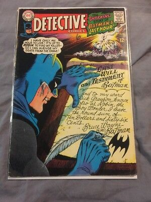 Batman Detective Comics 366 1967 VG