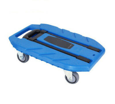 A106 Rugged Aluminium Luggage Trolley Hand Truck Folding Foldable Shopping Cart