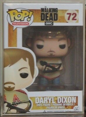 Funko Pop Vinyl THE WALKING DEAD DARYL DIXON *Poncho*