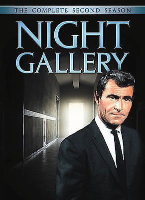 Night Gallery - The Complete Second Season (DVD, 2008, 5-Disc Set) FREE SHIPPING