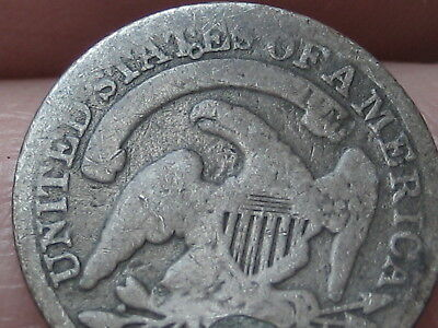 1837 Silver Capped Bust Half Dime