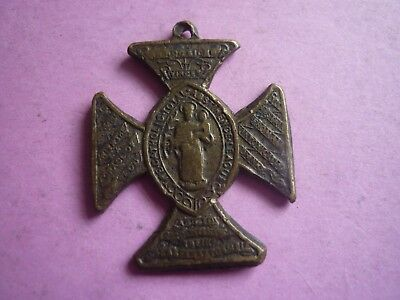 Antique Catholic Total Abstinence League Medal