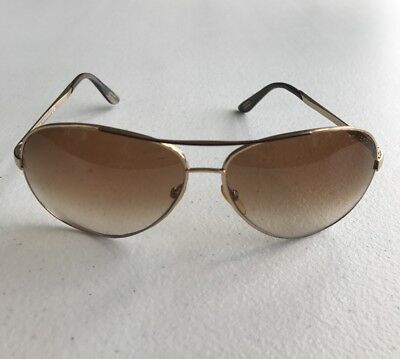 98f4d06d3ab Tom Ford Tf35 Charles Gold Brown Gradient Sunglasses Men s Frames 62Mm Tf 35