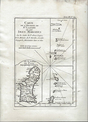 c1756 Map of the Mariana Islands