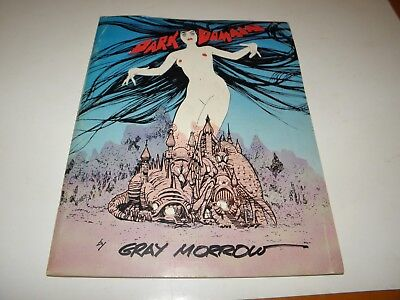 Dark Domain Gray Morrow Art Portfolio Fanzine Magazine Screen Facts Pub 1970 VG