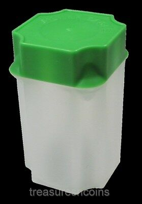 Guardhouse American Silver Eagle Green Top Coin Storage Tube Individually (1)