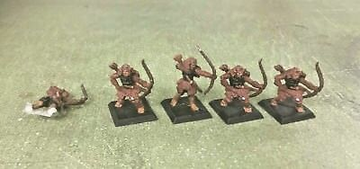 Lot of Legend of the Five Rings Clan War Unaligned Archers Metal Figures