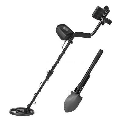 KKmoon Underground Metal Detector Gold Digger Treasure Hunter with Shovel Q3E8