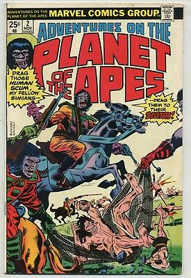 Adventures on the Planet of the Apes 2 High Grade