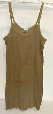 Original WWII US Army NURSE, WAC Womans Camisole NAMED Size Med. Reg. *LAST ONE*