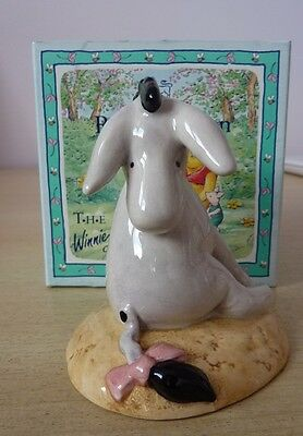Royal Doulton Winnie The Pooh Eeyore'S Tail 70Th  Wp7 With Box