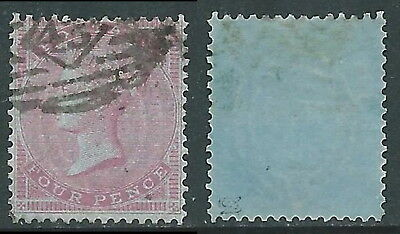 1855-57 GREAT BRITAIN USED SG 62a 4d W15