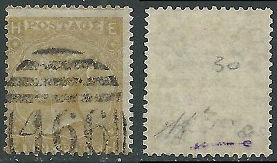 1865-67 GREAT BRITAIN USED SG 98 9d PLATE 4 (EH)