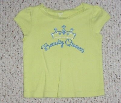 """Beauty Queen"" Green Grape Gymboree S/S Top, Greek Isle Style, Size 3T, VGUC"