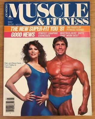 Joe Weider's Muscle And Fitness Bodybuilding Magazine May 1981