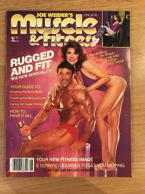 Muscle And Fitness Bodybuilding Magazine June 1982