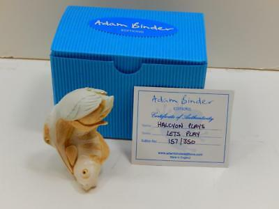 Rare Adam Binder Lets Play Series Limited Edition Halcyon Plays Figurine