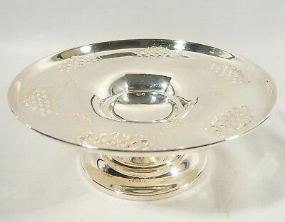 Sterling Silver COMPOTE / Candy DISH  Pedestal BOWL RODEN (Birks) 117 grams