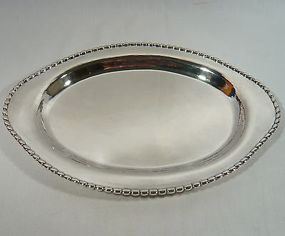Danish HEISE Solid Silver ART DECO Liquor Serving TRAY 1920 SALVOR Denmark 434 G